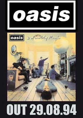 Oasis Dd8 Poster Art Print - A4 A3 A2 A1 A0 Sizes