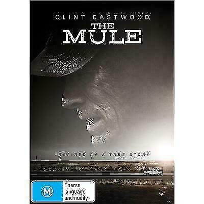 The Mule Dvd, New & Sealed, 2019 Release, Free Post,