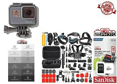 GoPro HERO5 Black Edition All In 1 PRO Accessory Mount Bundle CHDHX-501
