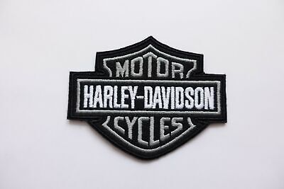 Skull/&Wings Harley Davidson Motor Cycles Embroidered Biker Patches//Badges Sew-On