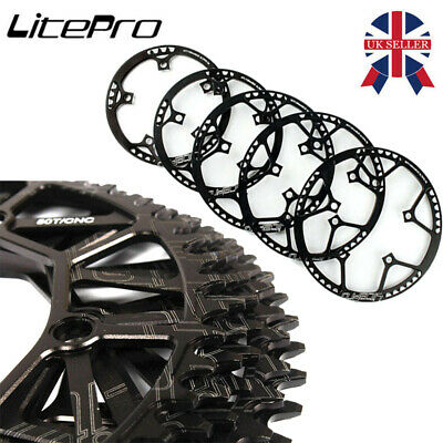 50//52//54//56//58//60T 130BCD ROAD BICYCLE FOLDING BIKE CHAINRING CHAINWHEEL FADDISH
