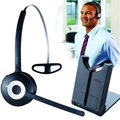 Jabra PRO 920 Wireless Headset With WHB003 Base + Aux Cable+Power Supply Adapter