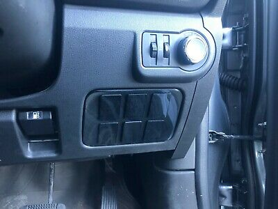 RG Holden Colorado 2017-2019 Switch Panel (Rocker Style)