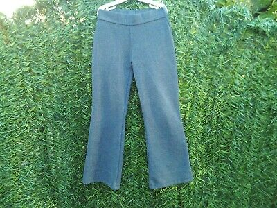 Girl's grey school trousers - NEXT - age 7 years (height 122 cms)