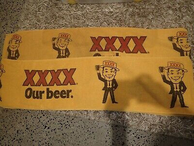 Two 4X beer runners/mats size 7'