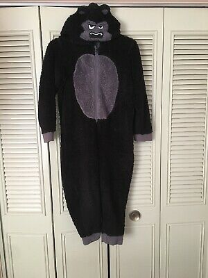 Boys gorilla all in one pj size 9-10 years black Marks & Spencer