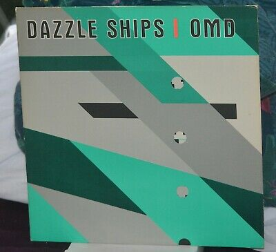 OMD - Orchestral Manoeuvres In The Dark - DAZZLE SHIPS Original 1st Pressing UK