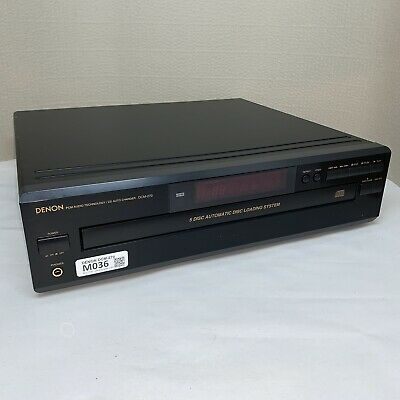 Denon DCM-270 5-Disc CD Player Auto Changer Stereo HiFi Tested Working M036