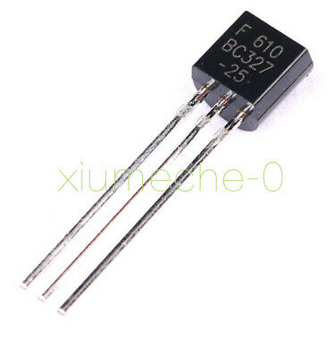 TRANSISTOR TO-92F, QTY 10 2 BC416 N.F 45V. VERY LOW NOISE PNP