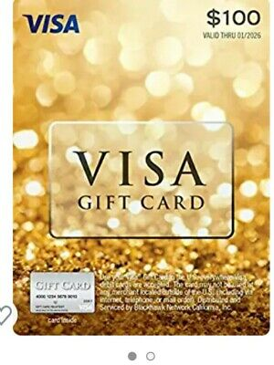 $100 Gift Card - Already Activated with No Fees!