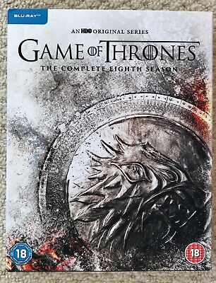 Game Of Thrones Season 8 Blu Ray House Stark Packaging