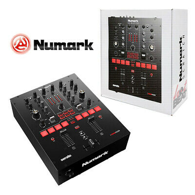 Numark Scratch 24 Bit 2 Channel Professional DJ Mixer w Serato DJ DVS Software