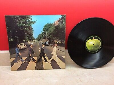 THE BEATLES Abbey Road LP original UK vinyl record 1969 pressing Apple album