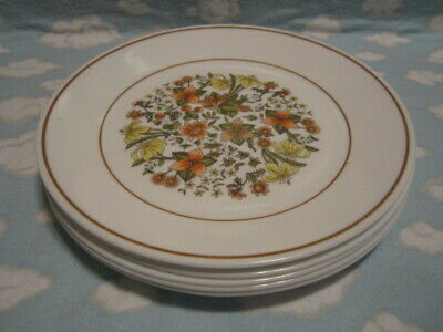Corelle/Corning=Indian Summer Lunch Plates=Set Of 6=All To Go One Price !!