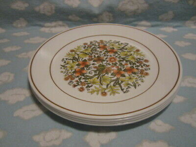 Corelle/Corning=Indian Summer Dinner Plates=Set Of Four=All To Go One Price !!