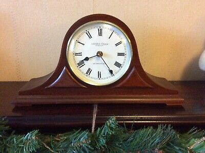 London Clock Company Westminster Chime Napoleon Mantle Clock 17.5 Cm