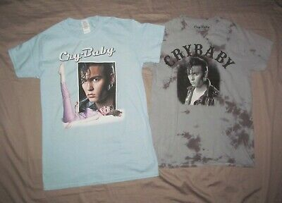Cry Baby Movie Depp DRAPES /& SQUARES Licensed Juniors Cap Sleeve T-Shirt