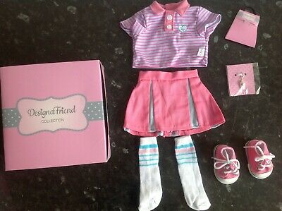 Design A Friend Sports Outfit Clothes Set for Chad Valley Designafriend Doll