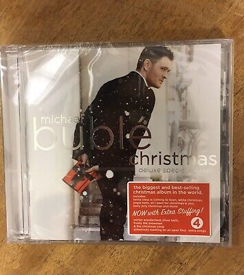 Michael Buble Christmas Deluxe Special Edition CD Brand New & Sealed