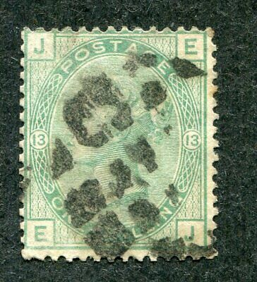 Stamp Lot Of Great Britain, Scott #64 Plate 13 ($120)