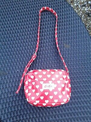Cath Kidston  Small Kids Bag with Heart Motif Unused