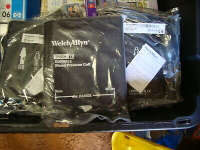 Lot of 16 New Welch Allyn One Piece Blood Pressure Cuff #5082-228-1 Thigh 13 Dur