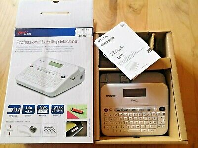 Brother P-touch D400 Label Printer Professional Labelling Machine