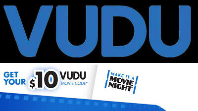 $10 VUDU Movie Credit - Gift Card - Fast Email Delivery !! SUPER OFFER!!!