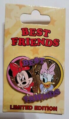 Disney Parks Pin of the Month Best Friends 2 Set LE 3000 Daisy Minnie Mouse