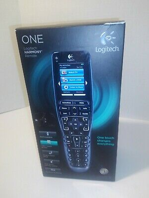 Logitech Harmony ONE Universal Remote ** TouchScreen ** 915 000209 Rare Model