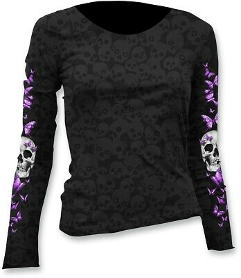 Lethal Threat Women's Long-Sleeve Scoop Neck T-shirt