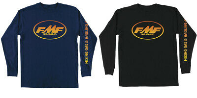 FMF Racing Men's Bustle Long Sleeve Tee