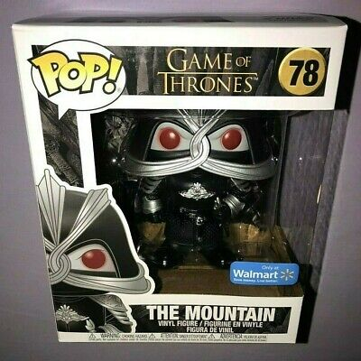 Funko POP THE MOUNTAIN #78 GAME OF THRONES EXCLUSIVE **NEW**
