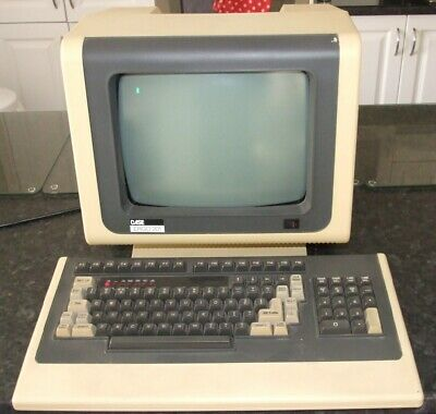 Case (Micro-Term) Ergo 201 vintage CRT terminal from the early 1980s