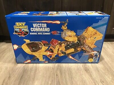 Vintage Kenner 1987 Sky Commanders Vector Command Center Factory Sealed Box!