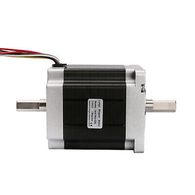 1PC Nema34 34HST9805-02B2 stepper motor dual shaft 878oz.in=7N.m 2A 8wires 98mm