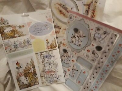 3 Sheets Docrafts Decoupage Sheets