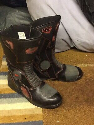 mens motorcycle boots size 12