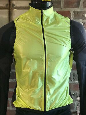 Assos sJ.BlitzFeder Weste leichte Wind-kleines Packmaß safety Yellow %%SALE%%