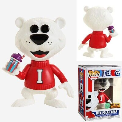 "Funko POP! ""Ad Icons"" ICEE Polar Bear SCENTED (Hot Topic exclusive) SHIPS FAST"