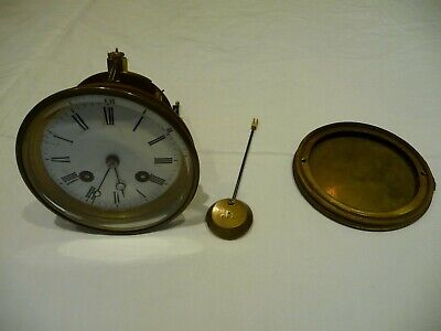 Antique French Bell Striking Complete Clock Movement Jappy Freres Restoration