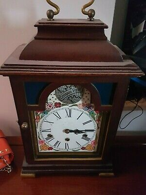 watch clock antique collectible hard wooden