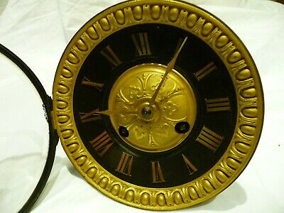 Antique French Large Gong Striking Clock Movement + Pendulum Restoration Project