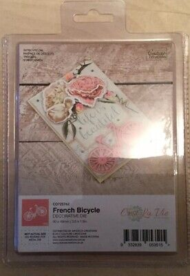Couture Creations French Bicycle Decorative Die 90 X 49mm 1pc