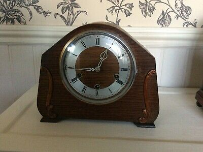 Vintage Smiths Westminster Chiming  Mantel Clock  Working