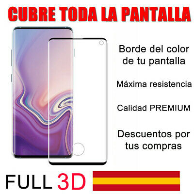 SAMSUNG GALAXY S10 protector cristal templado completo FULL 3D