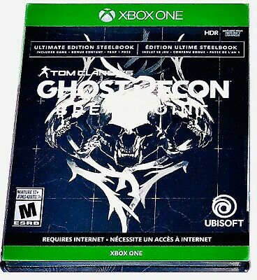 Tom Clancy's Ghost Recon Breakpoint Ultimate Edition STEELBOOK (XBOX ONE) NEW