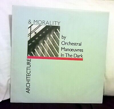OMD-Orchestral Manoeuvres In The Dark - Architecture & Morality BLUE Sleeve RARE