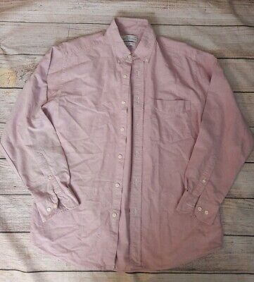 St Michael From M&S Cotton Oxford Shirt Size Medium Exellent Condition