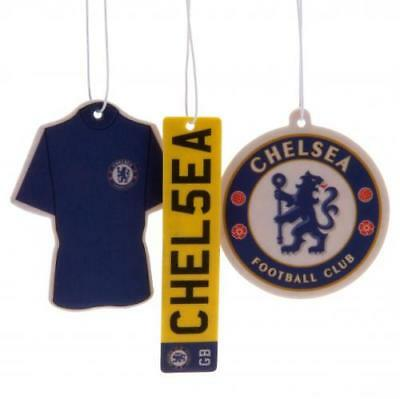 Chelsea FC Official Crested Air Fresheners 3 Different Designs Present Gift